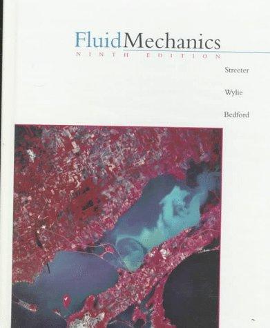 Fluid Mechanics  9th 1998 edition cover