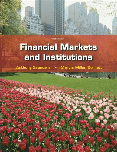 Financial Markets and Institutions  4th 2009 edition cover