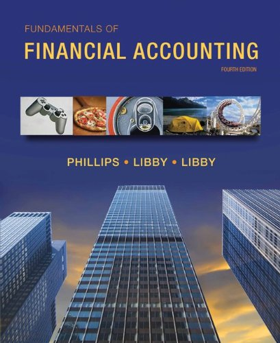 Fundamentals of Financial Accounting  4th 2013 edition cover