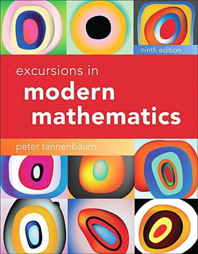 Excursions in Modern Mathematics:   2017 9780134468372 Front Cover