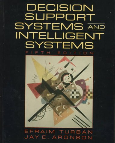 Decision Support Systems and Intelligent  5th 1998 edition cover