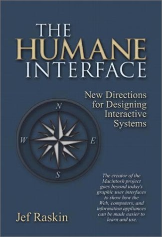 Humane Interface New Directions for Designing Interactive Systems  2000 edition cover