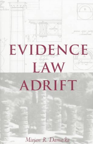 Evidence Law Adrift   1997 9780300069372 Front Cover