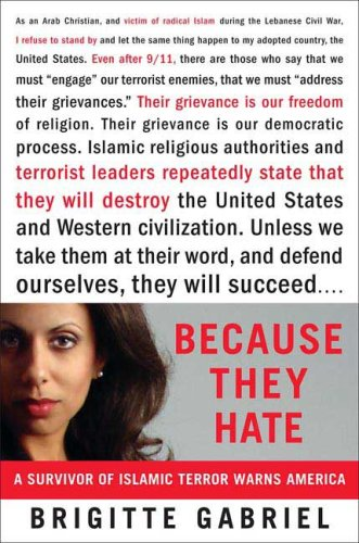 Because They Hate A Survivor of Islamic Terror Warns America  2006 edition cover