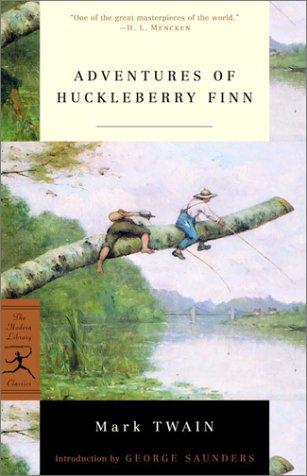 Adventures of Huckleberry Finn   2001 edition cover