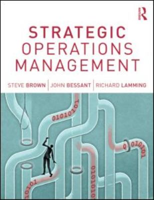 Strategic Operations Management  3rd 2013 (Revised) edition cover
