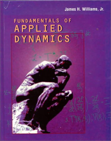 Fundamentals of Applied Dynamics   1996 edition cover