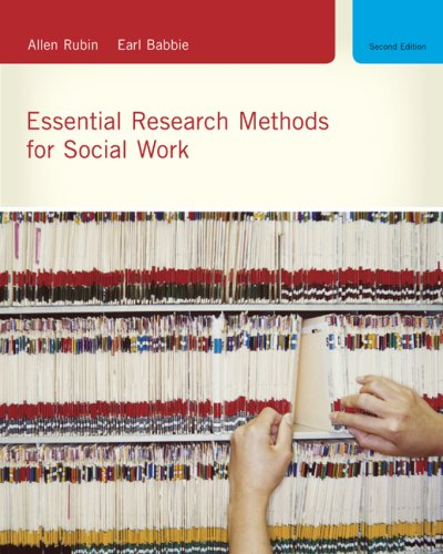 Essential Research Methods for Social Work  2nd 2010 edition cover