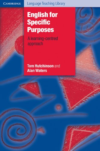 English for Specific Purposes   1987 edition cover