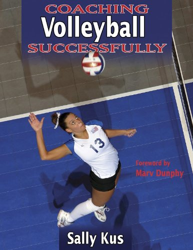 Coaching Volleyball Successfully  2nd 2004 edition cover