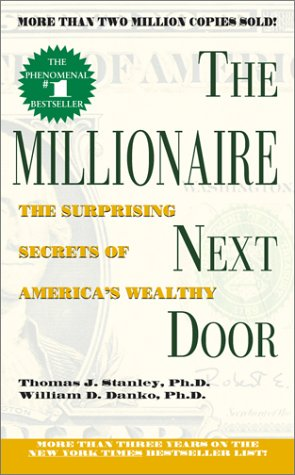 Millionaire Next Door The Surprising Secrets of America's Wealthy N/A edition cover
