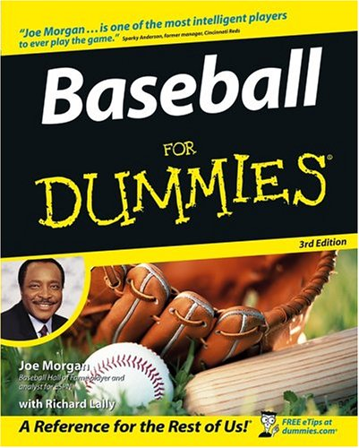 Baseball for Dummies  3rd 2004 (Revised) edition cover