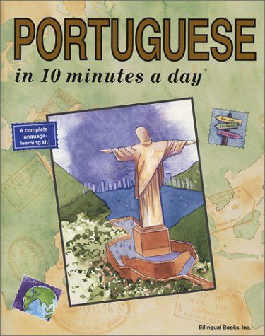 Portuguese in Ten Minutes a Day   2000 edition cover
