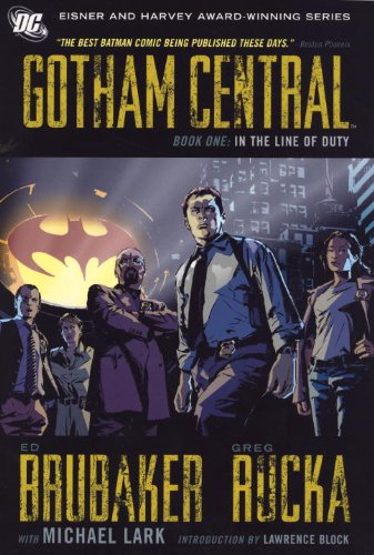 Gotham Central Book 1: in the Line of Duty   2008 9781401220372 Front Cover