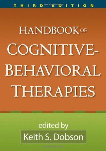 Handbook of Cognitive-Behavioral Therapies  3rd 2010 (Revised) edition cover