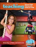 Essentials of Teaching Adapted Physical Education Diversity, Culture, and Inclusion  2012 edition cover