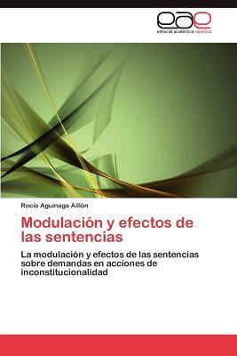 Modulacion y Efectos de Las Sentencias  0 edition cover