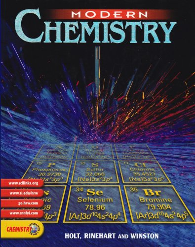 Modern Chemistry 1st 9780030565373 Front Cover