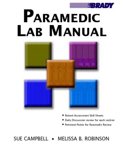 Paramedic Lab Manual   2006 edition cover