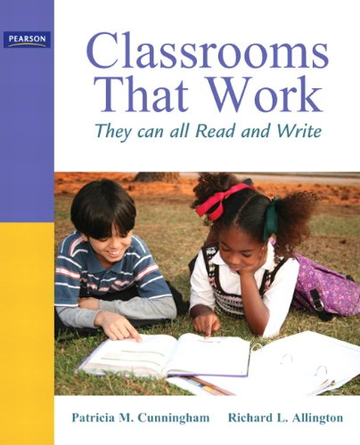 Classrooms That Work They Can All Read and Write 5th 2011 edition cover