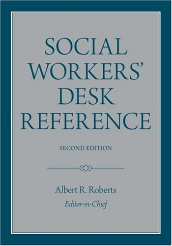 Social Workers' Desk Reference  2nd 2008 edition cover