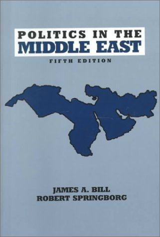 Politics in the Middle East  5th 2000 edition cover
