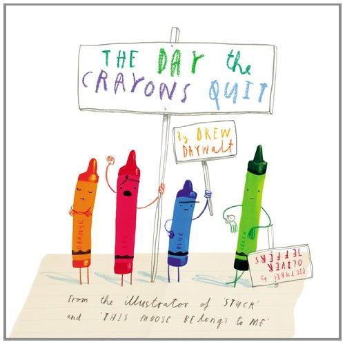 Day the Crayons Quit   2013 9780399255373 Front Cover