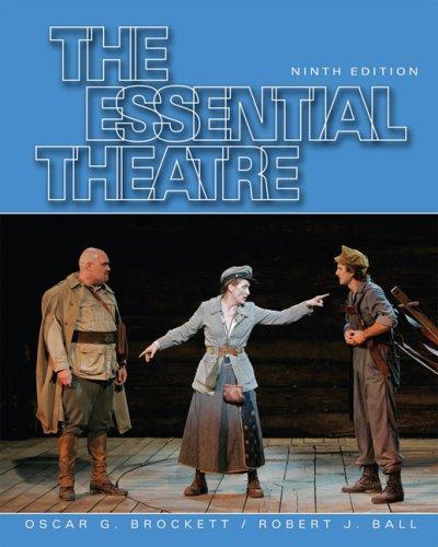 Essential Theatre  9th 2008 edition cover