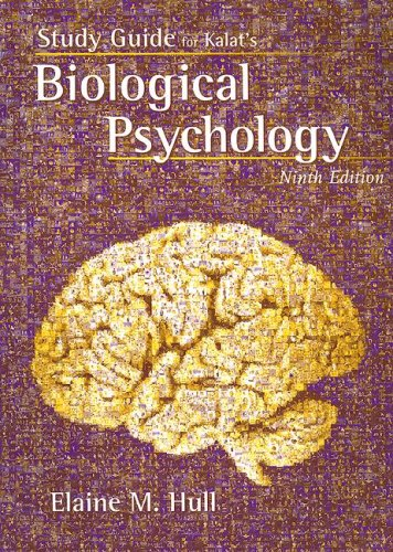 Study Guide for Biological Psychology  9th 2007 9780495102373 Front Cover