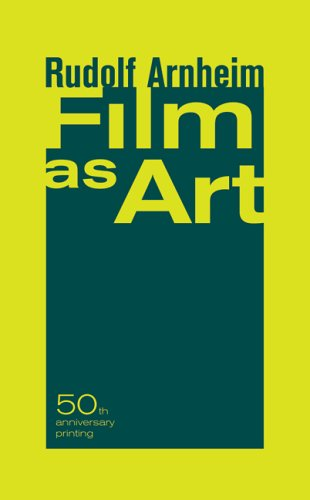 Film As Art  2nd 1957 (Annotated) edition cover