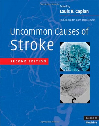 Uncommon Causes of Stroke  2nd 2008 9780521874373 Front Cover