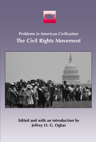 Civil Rights Movement  2003 9780618077373 Front Cover
