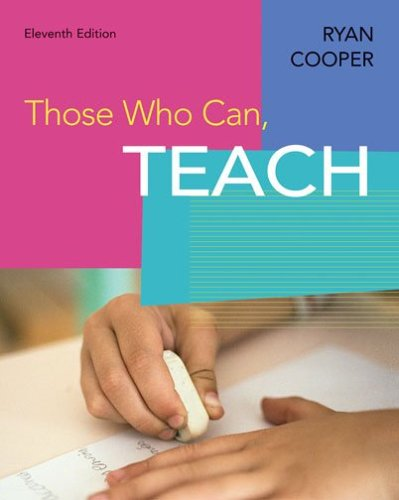Those Who Can, Teach  11th 2007 edition cover