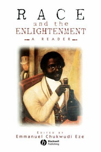 Race and the Enlightenment A Reader  1997 edition cover