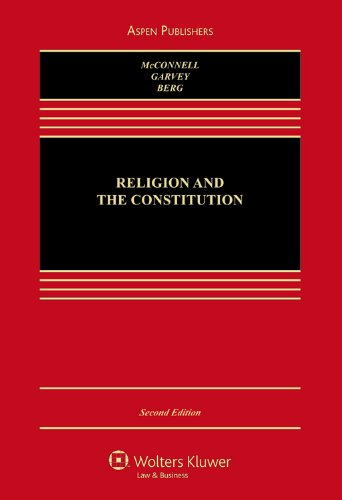 Religion and the Constitution  2nd 2006 (Revised) 9780735561373 Front Cover