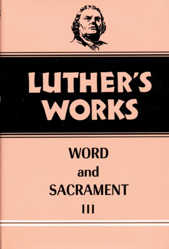 Word and Sacrament  N/A edition cover