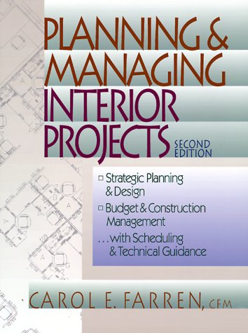 Planning and Managing Interior Projects  2nd 1999 (Revised) edition cover
