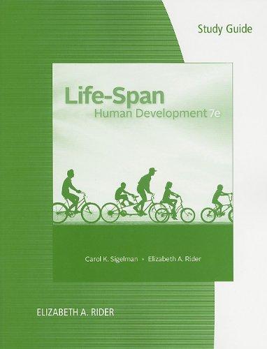 Life-Span Human Development  7th 2012 edition cover
