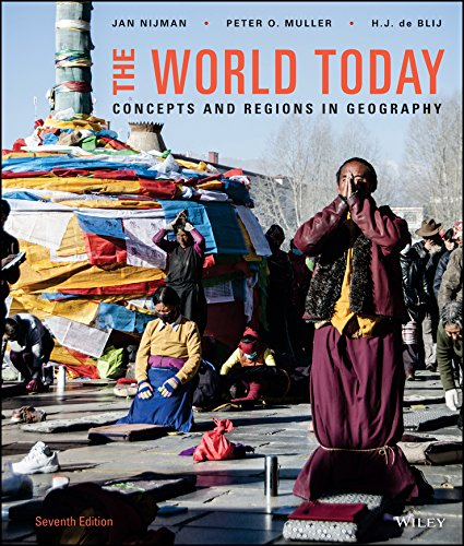 The World Today: Concepts and Regions in Geography  2015 9781118790373 Front Cover