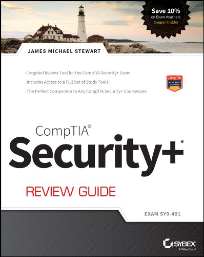 Comptia Security+ Review Guide Exam Sy0-401 3rd 2014 edition cover
