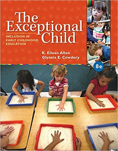 The Exceptional Child: Inclusion in Early Childhood Education  2014 9781285432373 Front Cover