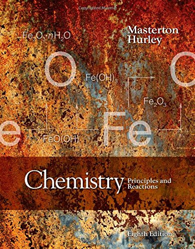 Chemistry: Principles and Reactions 8th 2015 edition cover