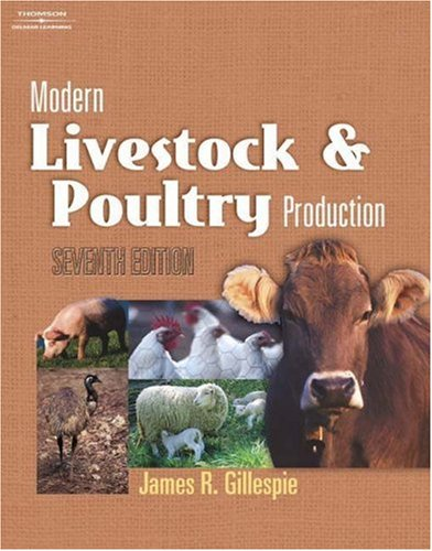 Livestock and Poultry Production  7th 2004 (Revised) 9781401827373 Front Cover