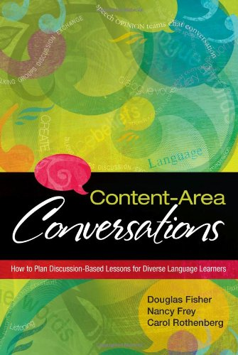 Content-Area Conversations How to Plan Discussion-Based Lessons for Diverse Language Learners  2008 edition cover