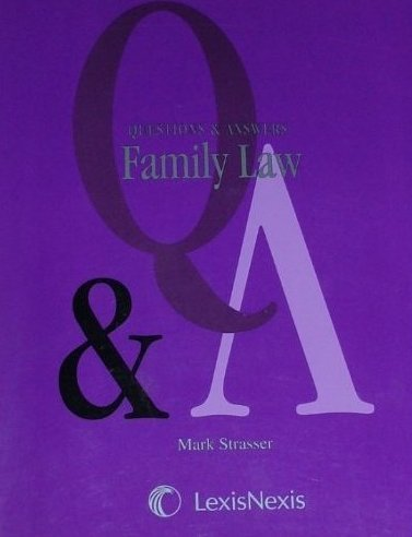 Family Law:  2nd 2011 edition cover
