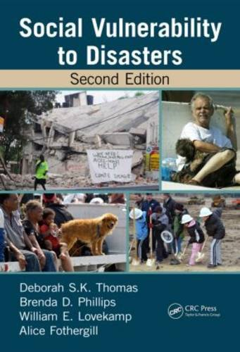 Social Vulnerability to Disasters, Second Edition  2nd 2013 (Revised) edition cover
