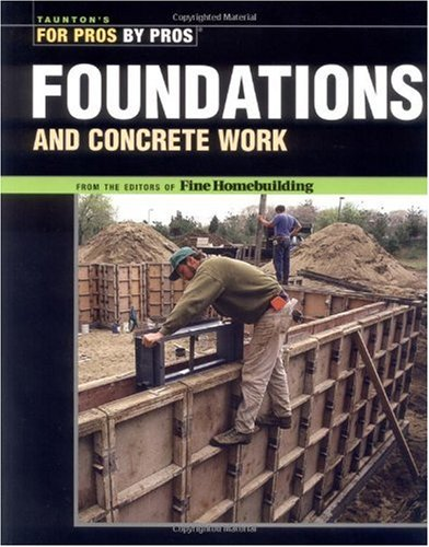 Foundations and Concrete Work  2nd 2002 edition cover
