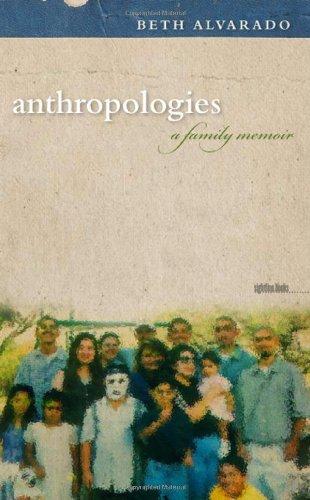Anthropologies A Family Memoir  2011 edition cover