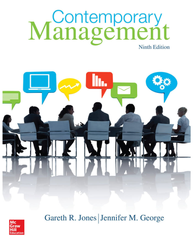 Contemporary Management 9th 2015 9780077718374 Front Cover
