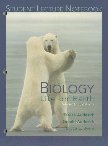 Biology Life on Earth 7th 2005 (Student Manual, Study Guide, etc.) 9780131465374 Front Cover